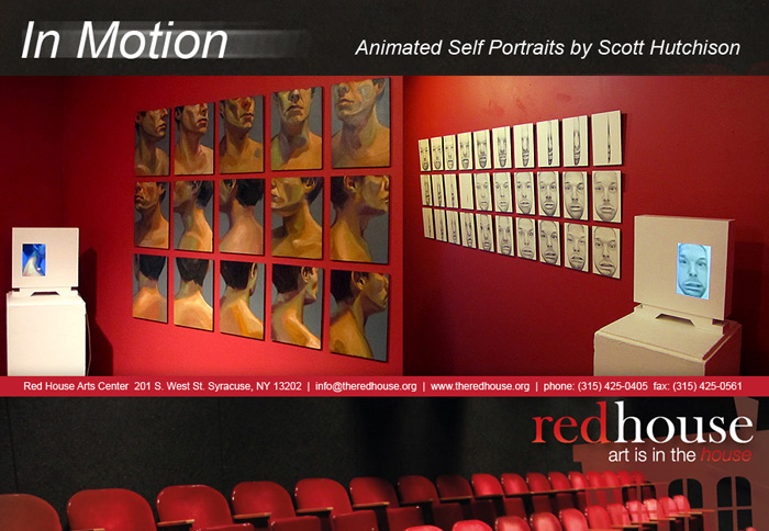 Solo Show - In Motion - RedHouse Art Center - Syracuse New York - Scott Hutchison