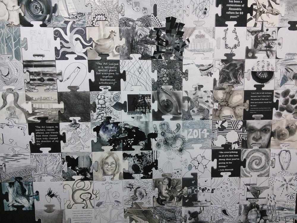 Scott Hutchison - Art League - Public Art Project - Community Canvas