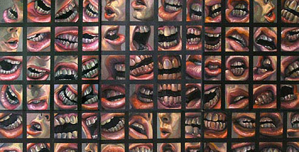 Not a Whisper - oil on paper - By Scott Hutchison thumbnail