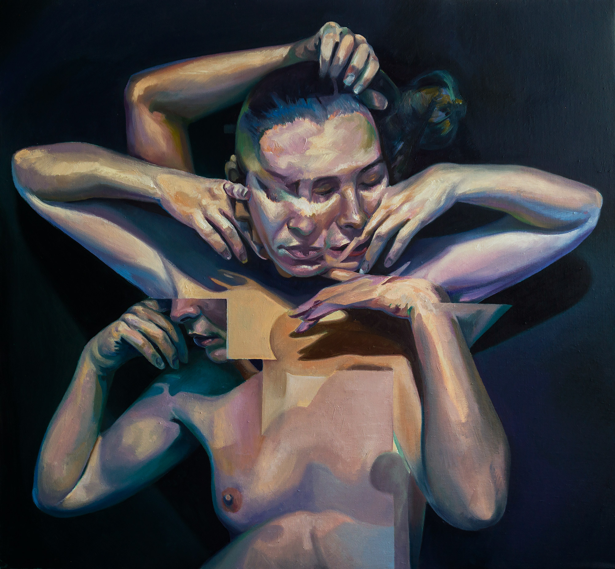 Scott Hutchison's painting titled Circumference