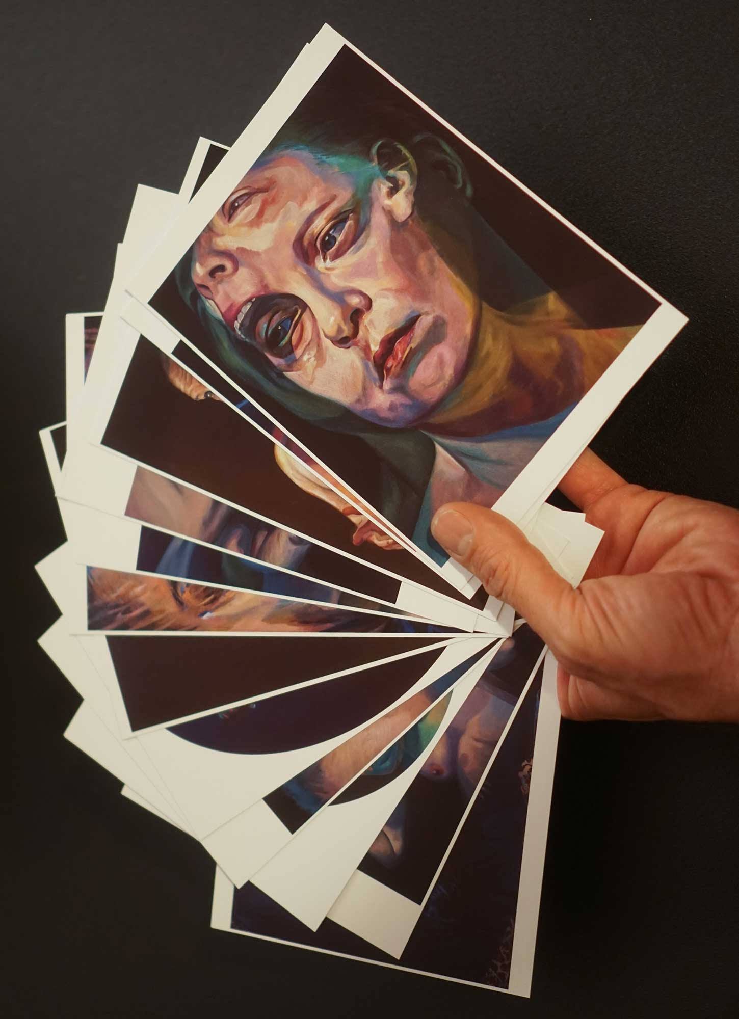 You can purchase Scott Hutchison's Postcards For Sale