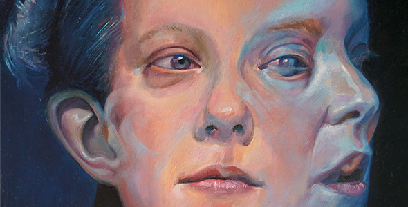 A Glimpse by Scott Hutchison - Oil on Linen Thumbnail
