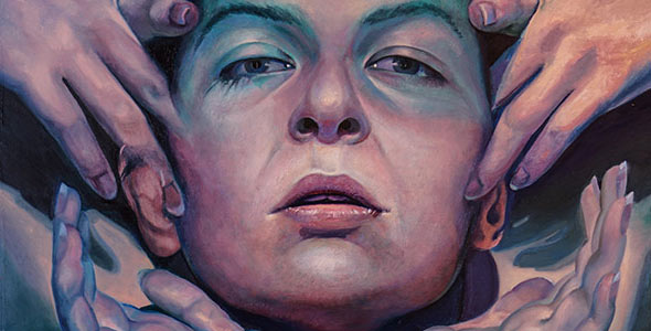 Scott Hutchison - Oil on panel - Quite Depth in a Fading Light - Thumbnail