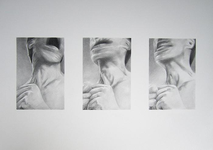 Scott Hutchison - Blur - Graphite Portrait Animation - Shaking Head