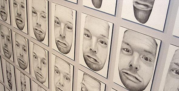 Scott Hutchison - Unseen - Funny Squished Portrait Animation in Graphite