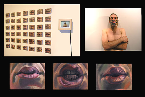 Scott Hutchison - Animation -  I Dont Know - Wearing painted mouths