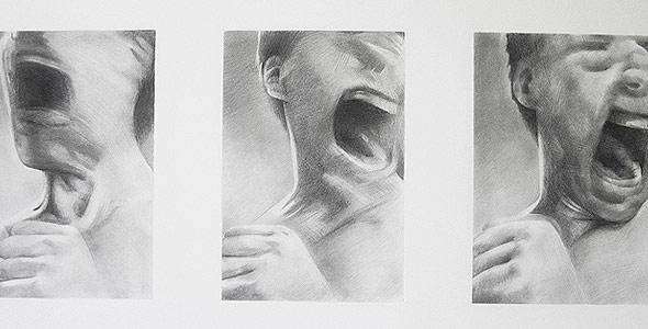 Scott Hutchison - Blur - Graphite Portrait Animation