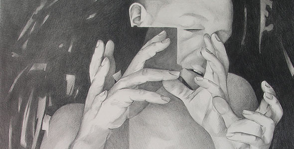 Scott Hutchison - Counterpoint - Graphite Figure Drawing Triptych Thumb