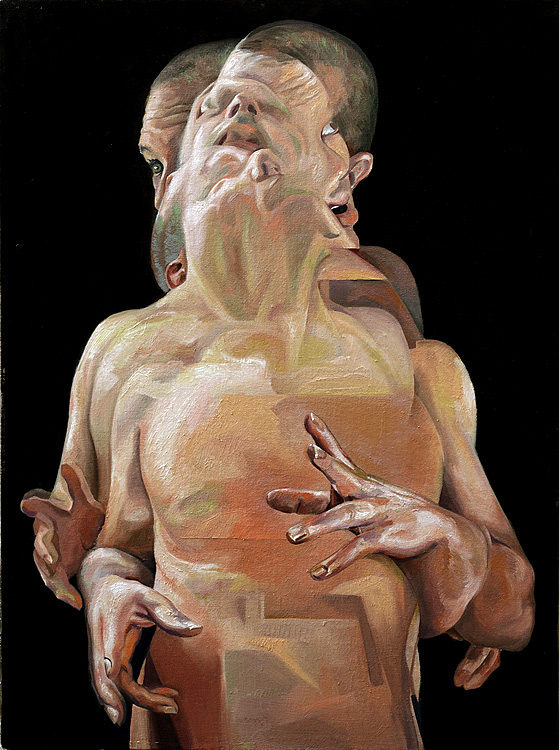 Scott Hutchison - Displaced - Figure Painting in oils - Layer 3