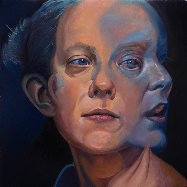 A Glimpse by Scott Hutchison - Oil on Linen Layer 3