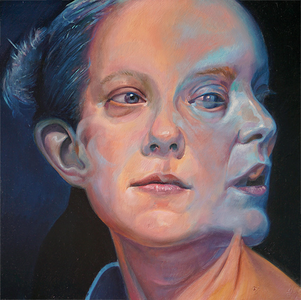 A Glimpse by Scott Hutchison - Oil on Linen Finished