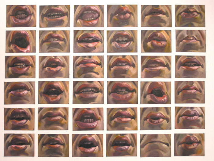 Scott Hutchison - Animation - I Dont Know - Oil Painted Mouth Views