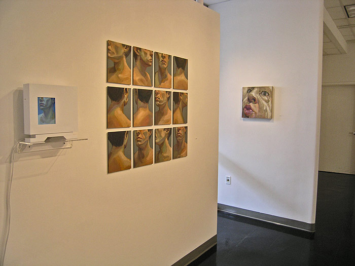 Scott Hutchison - 360 - Face Animation Installation View