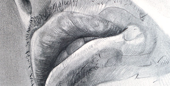 Thumbnail Image of Scott Hutchison's Drawing titled Waiting to Speak