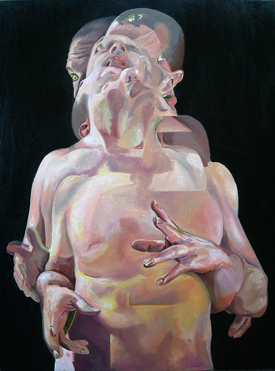 Scott Hutchison - Displaced - Figure Painting in oils - Layer 2