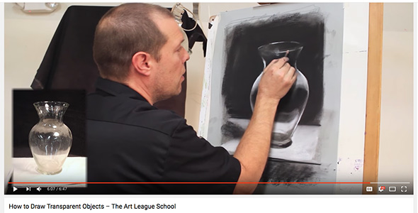 Scott Hutchison's demonstration of drawing glass