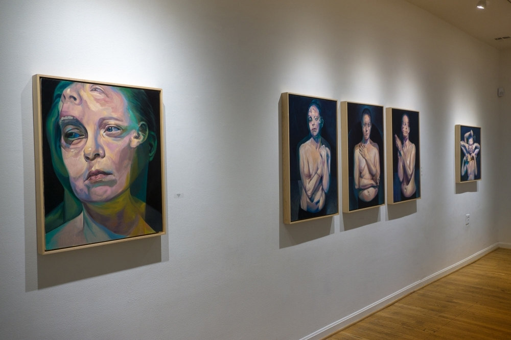 """The Three Sisters"" and ""Before the After"" at The Hillyer Arts Space by Scott Hutchison"