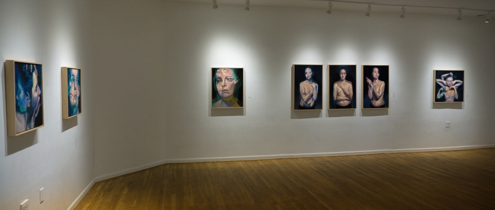 """""""The Three Sisters"""" and """"Before the After"""" at The Hillyer Arts Space by Scott Hutchison"""