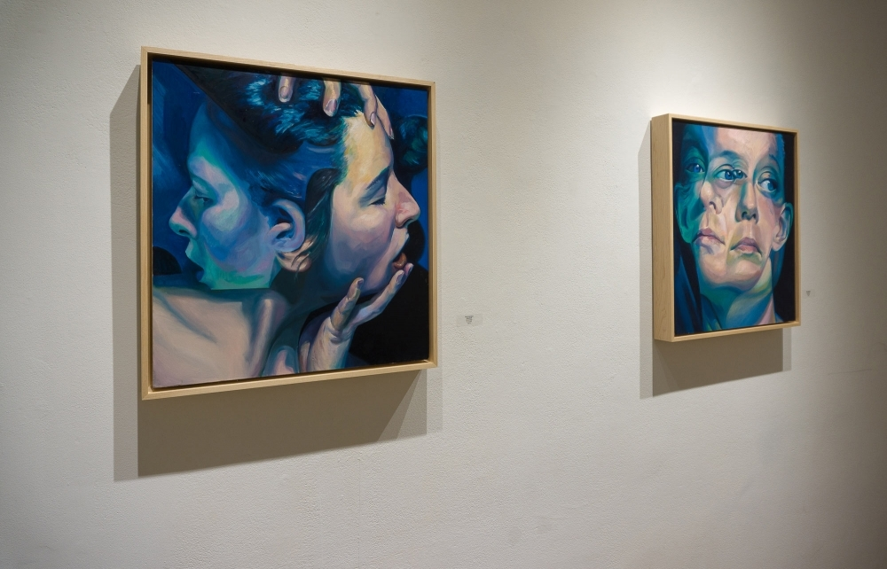 """""""Entwined"""" and """"The Decision"""" at the Hillyer Arts Space By Scott Hutchison"""