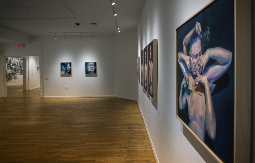 """""""Circumference"""" at The Hillyer Arts Space by Scott Hutchison"""