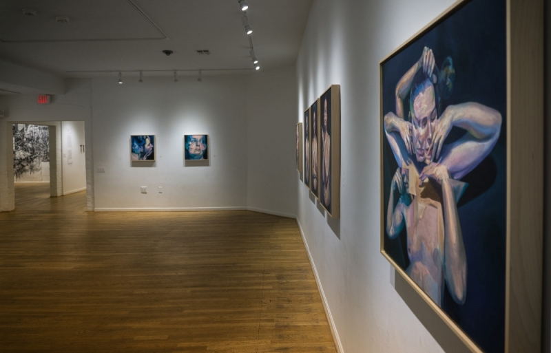 """Circumference"" at The Hillyer Arts Space by Scott Hutchison"