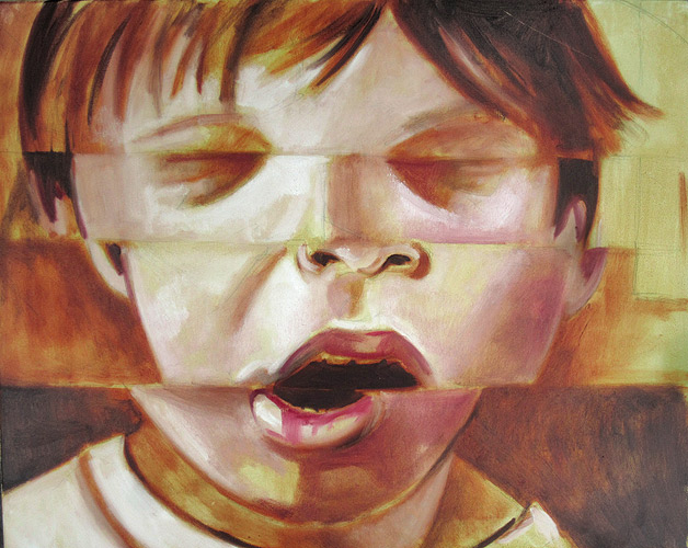 Unfinished - oil on canvas by Scott Hutchison Underpainting